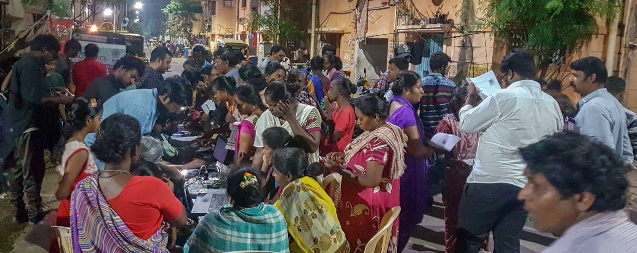 Arappor Petition Camp - Kannagi Nagar